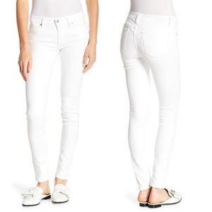 Levi's 711 Skinny Jeans in Clean White NWOT
